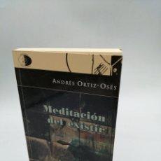 Libros de segunda mano: MEDITACIÓN DE RESISTIR ANDRÉS ORTIZ OSÉS. LIBROS DEL INNOMBRABLE. Lote 194400372