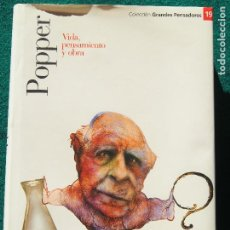 Libros de segunda mano: POPPER VIDA, PENSAMIENTO Y OBRA - JORDI MUNDÓ 978-84-674-5134-4. Lote 194500082