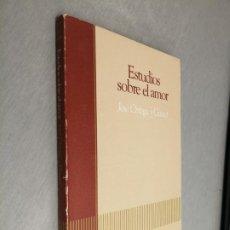 Libros de segunda mano: ESTUDIOS SOBRE EL AMOR / JOSÉ ORTEGA Y GASSET / BIBLIOTECA BÁSICA SALVAT 1985. Lote 194508153