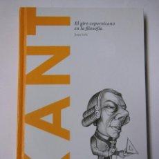 Libros de segunda mano: KANT. EL GIRO COPERNICANO EN LA FILOSOFÍA. SOLÉ JUAN. 2014. Lote 194566941