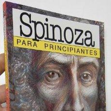 Libros de segunda mano: SPINOZA PARA PRINCIPIANTES - AXEL CHERNIAVSKY, ENRIQUE ALCATENA. Lote 194569151