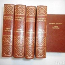 Libros de segunda mano: FRIEDRICH NIETZSCHE OBRAS COMPLETAS ( 5 TOMOS) Y98823T . Lote 194581983