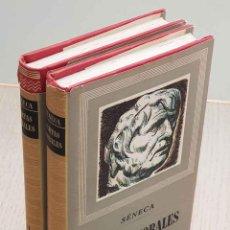 Libros de segunda mano: CARTAS MORALES A LUCILIO. TOMO I Y II - SÉNECA, LUCIO ANNEO. Lote 194601325