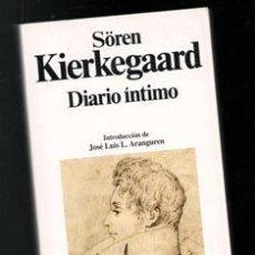 Livros em segunda mão: DIARIO ÍNTIMO, SOREN KIERKEGAARD. Lote 194711443