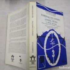 Libros de segunda mano: ESPEJISMO EN CITERIA, LETIZIA FEDRA Y OTRAS PROSAS - SALVADOR SPRIU - EDI DEL MAIL 1985 + INFO . Lote 194737546