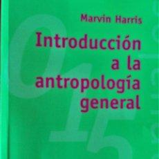 Libros de segunda mano: INTRODUCCIÓN A LA ANTROPOLOGÍA GENERAL - MARVIN HARRIS - ALIANZA EDITORIAL. Lote 194865526