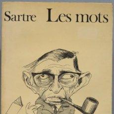 Libros de segunda mano: LES MOTS. SARTRE. Lote 194868880