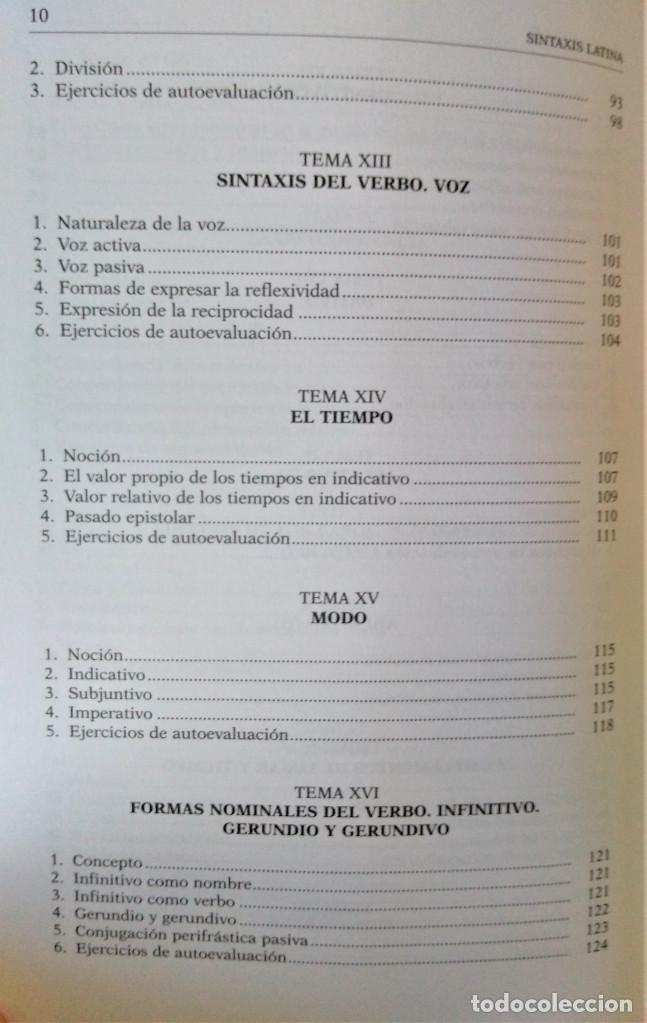 Libros de segunda mano: UNED - SINTAXIS LATINA - Francisco Calero - Foto 6 - 194869842