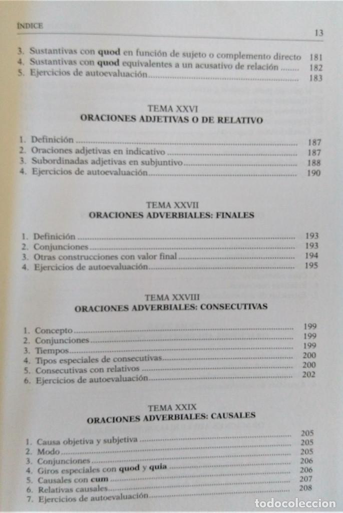 Libros de segunda mano: UNED - SINTAXIS LATINA - Francisco Calero - Foto 9 - 194869842