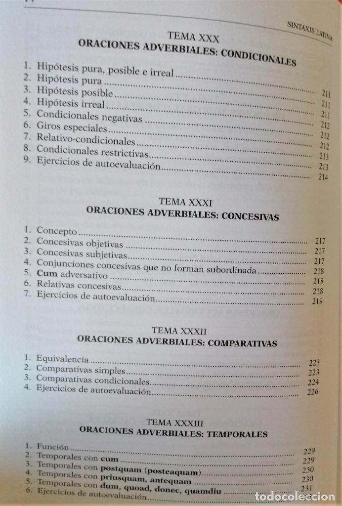 Libros de segunda mano: UNED - SINTAXIS LATINA - Francisco Calero - Foto 10 - 194869842