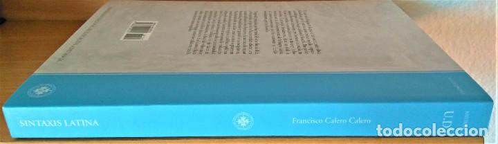 Libros de segunda mano: UNED - SINTAXIS LATINA - Francisco Calero - Foto 13 - 194869842