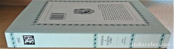 Libros de segunda mano: JUAN LUIS VIVES - OBRAS POLITICAS Y PACIFISTAS (BIBLIOTECA DE AUTORES ESPAÑOLES) - Foto 6 - 194871037