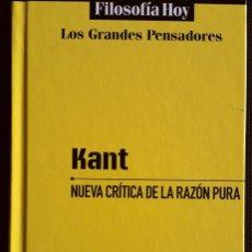 Libros de segunda mano: IMMANUEL KANT . NUEVA CRÍTICA DE LA RAZÓN PURA. Lote 194891261