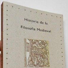 Libros de segunda mano: HISTORIA DE LA FILOSOFÍA MEDIEVAL - RAFAEL RAMÓN GUERRERO. Lote 194926307