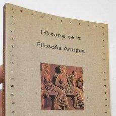 Libros de segunda mano: HISTORIA DE LA FILOSOFÍA ANTIGUA - FELIPE MARTÍNEZ MARZOA. Lote 194926433