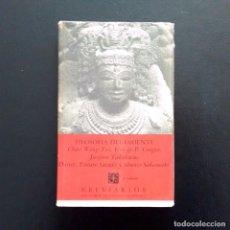 Libros de segunda mano: FILOSOFIA DEL ORIENTE. BREVIARIOS 28. MÉXICO. 3ª EDICIÓN EN ESPAÑOL, 1965.. Lote 194928738