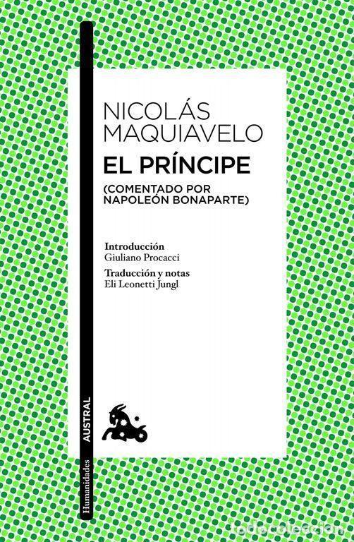 EL PRÍNCIPE. - MAQUIAVELO, NICOLÁS. (Libros de Segunda Mano - Pensamiento - Filosofía)