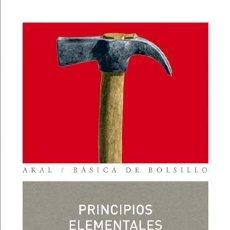 Libros de segunda mano: PRINCIPIOS ELEMENTALES Y FUNDAMENTALES DE FILOSOFÍA. - POLITZER, GEORGES.. Lote 194994547