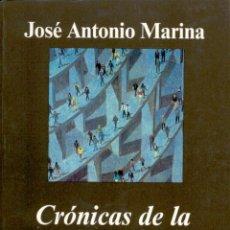 Libros de segunda mano: CRÓNICAS DE LA ULTRAMODERNIDAD. JOSÉ ANTONIO MARINA .-NUEVO. Lote 195014082
