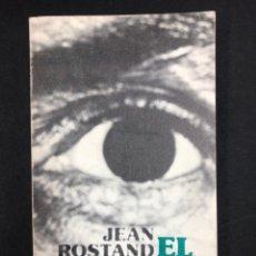 Libros de segunda mano: EL HOMBRE - JEAN ROSTAND - Nº30 ALIANZA 8ª ED. 1985. Lote 195126196