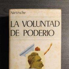Libros de segunda mano: LA VOLUNTAD DE PODERIO. NIETZSCHE. BIBLIOTECA EDAF 1981 . Lote 195145827