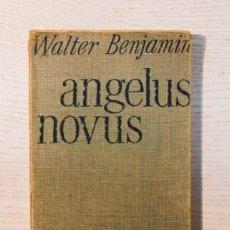 Livros em segunda mão: ANGELUS NOVUS - BENJAMIN, WALTER. Lote 195178397