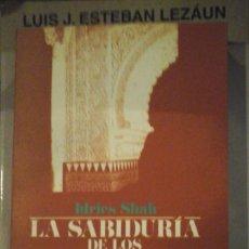 Libros de segunda mano: LA SABIDURÍA DE LOS IDIOTAS. CUENTOS DE LA TRADICIÓN SUFÍ (MADRID, 1996). Lote 195225848