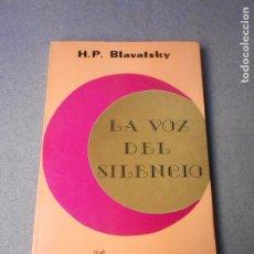 Libros de segunda mano: LA VOZ DEL SILENCIO. Lote 195305817
