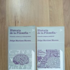 Libros de segunda mano: HISTORIA DE LA FILOSOFÍA. FELIPE MARTÍNEZ MARZOA.. Lote 195322060