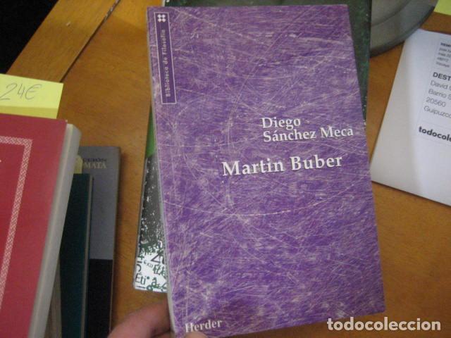 Libros de segunda mano: FILOSOFIA MARTIN BUBER, Diego Sánchez Meca, HERDER ED - Foto 5 - 195362386