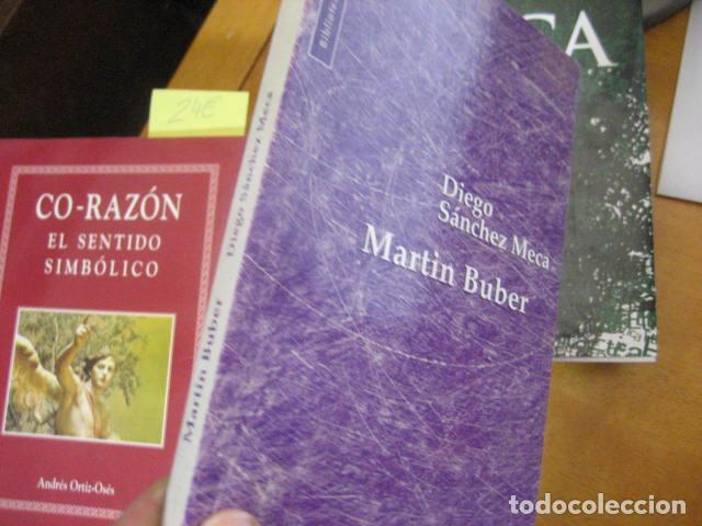 Libros de segunda mano: FILOSOFIA MARTIN BUBER, Diego Sánchez Meca, HERDER ED - Foto 6 - 195362386