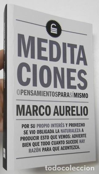 MEDITACIONES - MARCO AURELIO (Libros de Segunda Mano - Pensamiento - Filosofía)