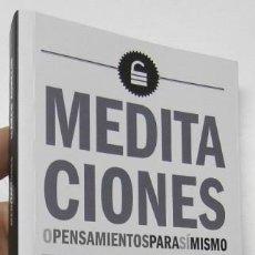 Libros de segunda mano: MEDITACIONES - MARCO AURELIO. Lote 195377433
