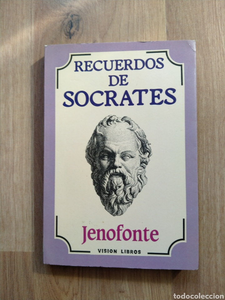 RECUERDOS DE SÓCRATES. JENOFONTE. (Libros de Segunda Mano - Pensamiento - Filosofía)