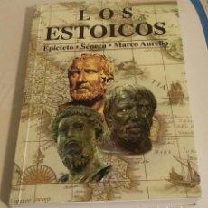 Libros de segunda mano: LOS ESTOICOS: EPICTETO, SÉNECA, MARCO AURELIO. Lote 195407752