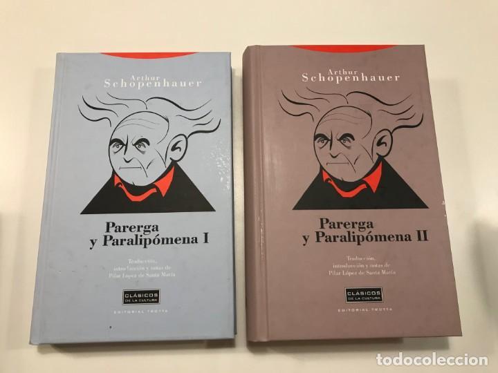 PARERGA Y PARALIPOMENA I Y II (Libros de Segunda Mano - Pensamiento - Filosofía)