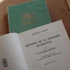 Libros de segunda mano: HISTORIA DE LA FILOSOFÍA OCCIDENTAL. RUSSELL (BERTRAND) MADRID, ESPASA-CALPE, 1971.. Lote 196086003