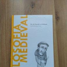 Libri di seconda mano: FILOSOFÍA MEDIEVAL. ANDRÉS MARTÍNEZ LORCA.. Lote 149646889