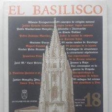 Libri di seconda mano: EL BASILISCO. REVISTA DE FILOSOFIA - GUSTAVO BUENO - Nº 18 SEGUNDA EPOCA - ENERO-JUNIO 1995. Lote 196972612