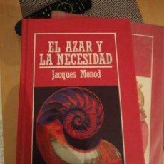 Livros em segunda mão: EL AZAR Y LA NECESIDAD. JACQUES MONOD. Nº 20. MUY INTERESANTE. BIBLIOTECA DIVULGACIÓN CIENTIFICA.. Lote 197825967