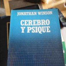 Livros em segunda mão: CEREBRO Y PSIQUE. JONATHAN WINSON. Nº 59. BIBLIOTECA CIENTIFICA SALVAT.. Lote 197968761