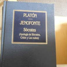 Livros em segunda mão: PLATÓN. JENOFONTE. SÓCRATES. APOLOGÍA CRITÓN Y LAS NUBES. Nº 25. ORBIS. HISTORIA DEL PENSAMIENTO. Lote 197969461