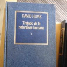 Livros em segunda mão: TRATADO DE LA NATURALEZA HUMANA. I. Nº 17. ORBIS. DAVID HUME. HISTORIA DEL PENSAMIENTO.. Lote 198231351