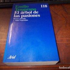 Libri di seconda mano: EL ÁRBOL DE LAS PASIONES, EMILIO TEMPRANO. DESEO, PECADO Y VIDAS REPETIDAS. ARIEL 1ª ED. MARZO 1.994. Lote 198554642