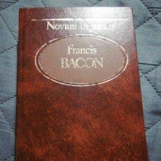 Libros de segunda mano: NOVUM ORGANUM. FRANCIS BACON. Lote 198585082