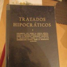Livros em segunda mão: TRATADOS HIPOCRÁTICOS I. BIBLIOTECA CLÁSICA GREDOS. 1983. Nº 63. CARLOS GARCIA GUAL. Lote 198670218