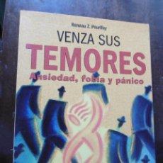 Libros de segunda mano: VENZA SUS TEMORES-RENEAU Z. PEURIFOY. Lote 199348667