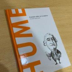Libros de segunda mano: HUME. Lote 201236095