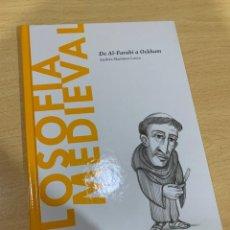 Libros de segunda mano: FILOSOFIA MEDIEVAL. Lote 201236651