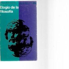 Libros de segunda mano: LIBRO DE MAURICE MERLEAU - PONTY . Lote 201895972